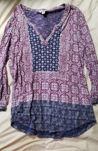 Lucky Brand free flowing top
